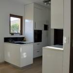 Izrada kuhinje, bijelo bojano - visoki sjaj