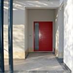 Masivna ulazna vrata - ostakljena