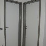 Sobna vrata sa RS ispunom i metalnim dovratnikom
